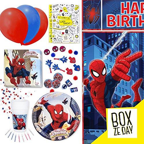 Kit anniversaires – SPIDERMAN 61rdX7wy3pL