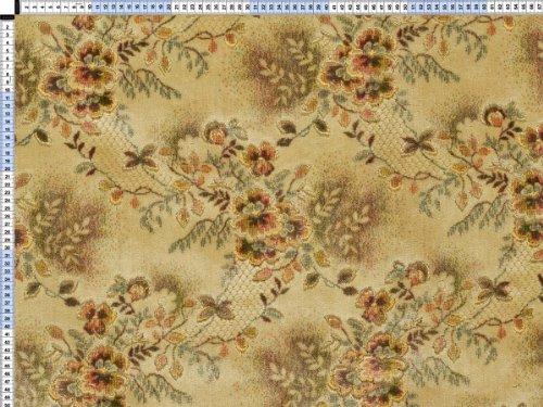 Tessuto da tappezzeria, rivestimento in tessuto, tessuto da tappezzeria, tessuto, tessuto della tenda, tessuto da tappezzeria di stoffa - pastello beige classico, Maxima, - pesanti con un elegante decorazione