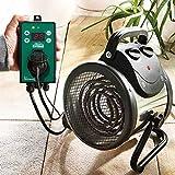 Bio Green Elektrogebläse / Gewächshausheizung mit Digital-Thermostat - 3