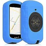 kwmobile hoes compatibel met Garmin Edge 530 - Siliconen beschermhoes voor fietsnavigatie - zwart