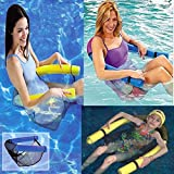 #3: Swimming Pool Stick Noodle Floating Chair, Seat For Adults And Children
