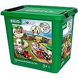 Brio 33155–BRIO tren, grande paisaje Insieme, caja Aniversario, 75unidades)