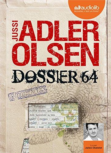 Dossier 64 - La quatrième enquête du département V: Livre audio 2 CD MP3