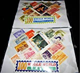 500pcs Stamps,5 bundle of 100 Different ...