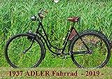 1937 ADLER Fahrrad (Wandkalender 2019 DIN A3 quer): Adler Damenfahrrad von 1937 (Monatskalender, 14 Seiten ) (CALVENDO Kunst)