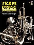 Team Brass: Brass Band Instruments (Book/CD). Sheet Music, CD for Brass Instruments