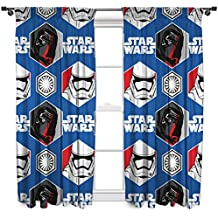 character world 182,88 cm Star Wars episodio 7 es probable que cortinas, Multi-color