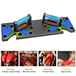 Lesgos Push Up Board, 9 in 1 Multi-Position Push Up Rack Board, Portable Fitness Exercise Training Color Coded System for...