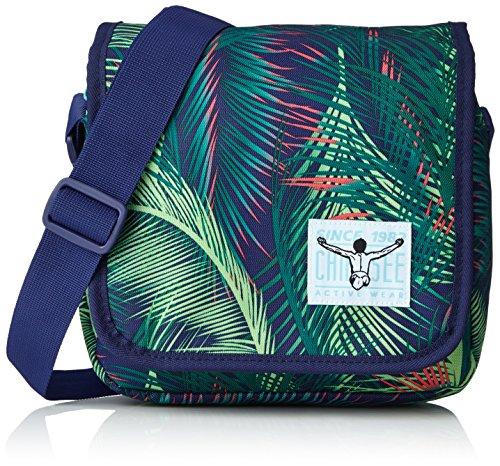 Chiemsee Unisex-Erwachsene Easy Shoulderbag Plus Umhängetasche, 8x20x21 cm Mehrfarbig (Palmsprings)