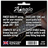 2 SETS! Adagio Professional Mandolin Strings