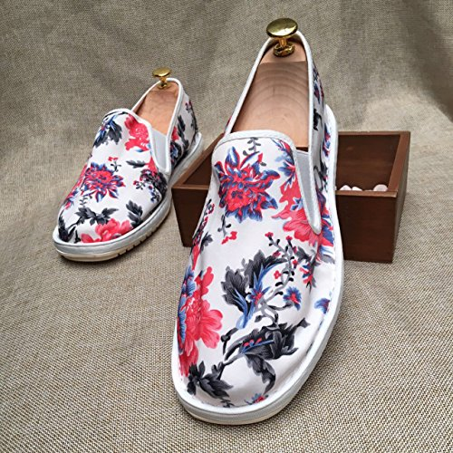 LvYuan Unisexe Chaussures en tissu traditionnel chinois / décontracté Retro Breathe Broderie chaussures / Chaussures Kung Fu / Martial Arts / slip-on chaussures