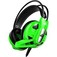 Ant Esports H520 W Wired Gaming Headset - Green I for PC / PS4 / Xbox One, Nintendo Switch, Computer and Mobile, World…