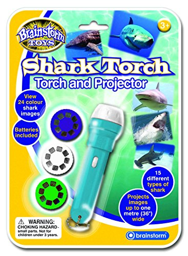 Brainstorm Toys Shark Torch and Projector by Brainstorm Toys