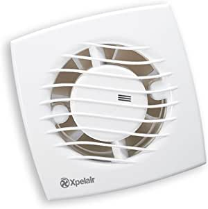 Xpelair SL100 Toilet/Bathroom Slimline Axial Extractor Fan ...