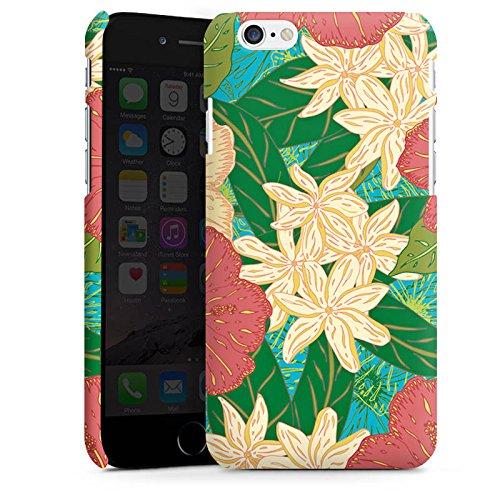 Apple iPhone X Silikon Hülle Case Schutzhülle Blumen Muster watercolor Premium Case matt