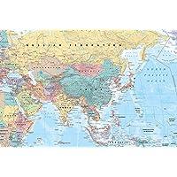 Grindstore GB eye, Asia y Oriente Medio, Mapa, Maxi Poster, 61x91.5cm