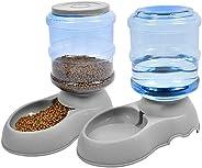 Umi. Essentials Set de comederos automáticos para Mascotas  para Gatos/Perros- 2 Piezas Dispensadores de Comida y Agua para