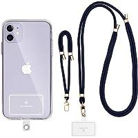 Sinjimoru Cordino Universale per Cellulare, cordini Collo/Polso per Telefono, Regolabili, per attaccare Il Telefono…