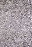 A2Z RUG SOFT SUPER THICK SHAGGY RUGS Silver 160X120 CM - 5.2X3.9 FT