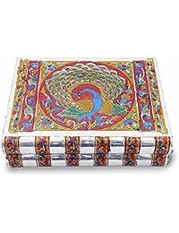 Metal Colorful Meenakari Work Jewellery Box -174