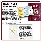 Prepaid SIM-Karte Lebara identifizieren–unbegrenzte Anrufe + 10GB Handy–Internet–30Tage–unverzichtbar durch NIF oder Pass