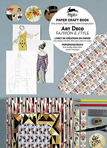 Art Deco. Paper Craft Book