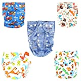 #6: WonderKart New Adjustable Reusable Lot Baby Washable Cloth Diaper Nappies Pack Of 1 Pc - Color May Very
