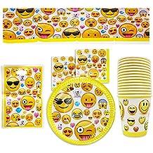 Design SMILEY Party Servietten Kinder Geburtstag Feier 3-lagig 33 x 33 cm bunt