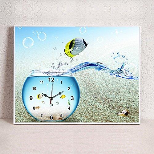 DQuietness Continental Keine Box Gemälde Hängen UhrenEine Einzelne Power Meter Boxen Maskierung Wandmalereien/ 60 X 40 Cm, 60 X 40 Cm.