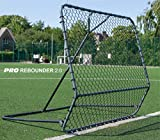 QUICKPLAY PRO Rebounder 1.5 x 1.5M - Fußball-Netzrückprallwand; Netz mit verstellbarem Abprallwinkel - NEU 2018 -