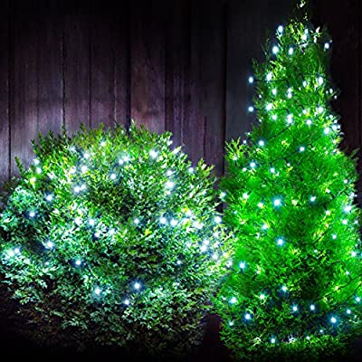 200 Christmas Outdoor LED Solar Powered Rechargeable Lights