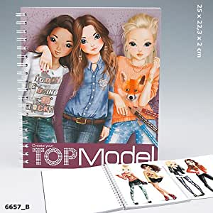 Top Model Colouring Book 7822: Amazon.co.uk: Toys & Games