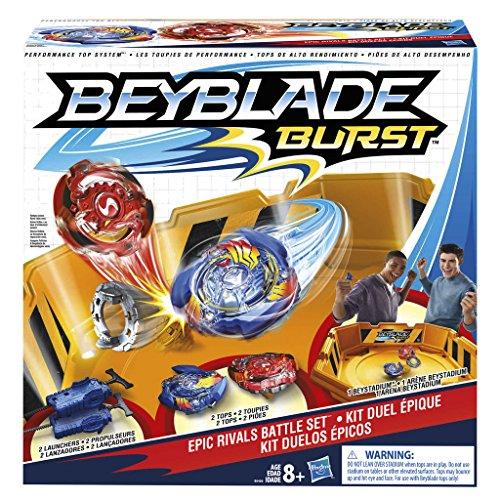 Hasbro Beyblade Burst B9498EU6 - Bey Epic Rivals Battle Set, Kreisel