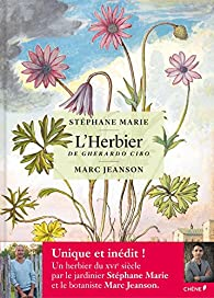 L'herbier de Gherardo Cibo par Stéphane Marie