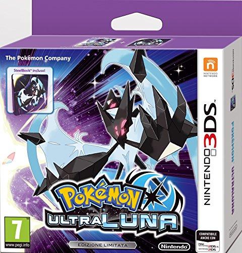 Pokémon Ultra Luna + Steelbook - Limited - New Nintendo 3DS