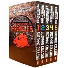 The Underland Chronicles Collection Suzanne Collins Gregor 5 Books Set (Grego...