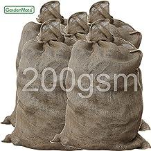 GardenMate® 5x UNIVERSELLE Sac en Toile de Jute 105 x 60 cm 200gsm