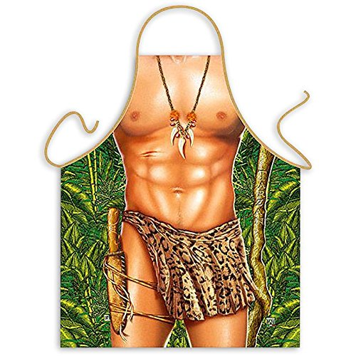 e mit Tarzan Motiv in Universalgröße für Erwachsene ()