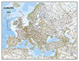 Europa, Classic, politisch, Grossformat: 1:5471000 (National Geographic Reference Map)