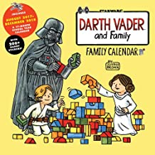 Darth Vader and Family 17-Month 2018 Family Calendar