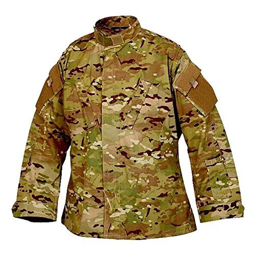 Tru-Spec 1298 Tactical Response Uniform Shirt, MultiCam (Combat Army Coat Uniform)