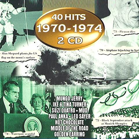 70-74 (Compilation CD, 40 Tracks)