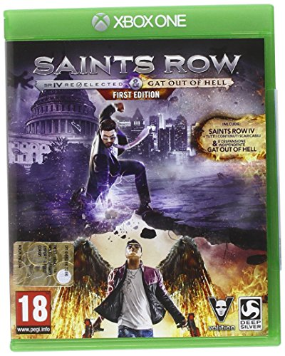 Foto Saints Row IV: Re-Elected - Gat Out Of Hell - First Edition - Xbox One