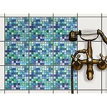 Suchergebnis auf Amazon.de für: Mosaik Fliesen Bad Blau   {Badezimmer fliesen mosaik 74}