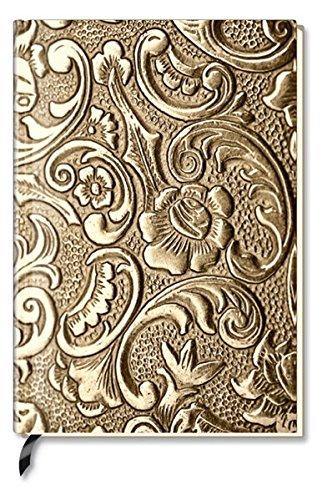 Preisvergleich Produktbild Notizbuch - liniert - Metallic Ornament