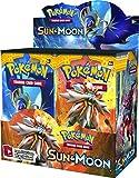 #5: Pokemon Sun & Moon English Booster Box - 36 packs of 10 random cards