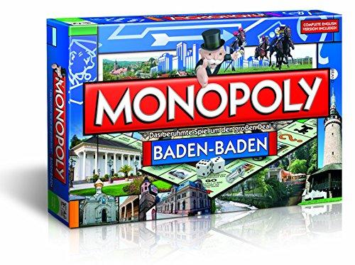 Monopoly Baden-Baden Edition - Das berühmte Spiel um den großen Deal!