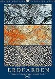 Erdfarben - Kunstvolle Formen aus Stein und Sand (Wandkalender 2019 DIN A3 hoch): Natürliche und künstliche Texturen (Monatskalender, 14 Seiten ) (CALVENDO Natur)