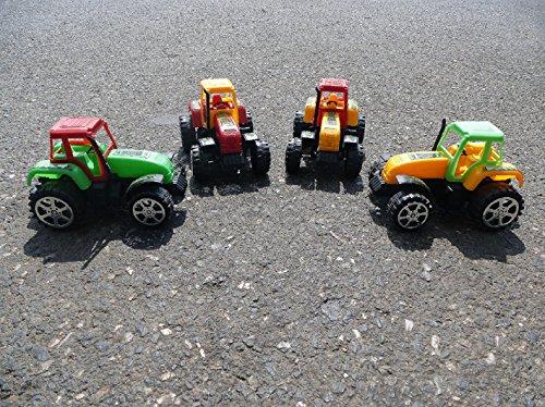 Traktor 12,5cm mit Schwungrad - Schwungrad-auto