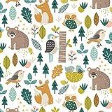 Woodland Stoffe–Woodland Tiere